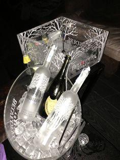 Vodka belvedere - Dom Perignon.
