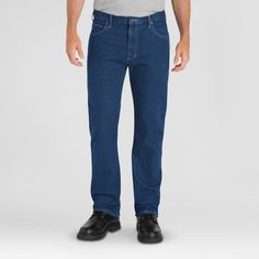 Dickies Men's Regular Fit Straight Leg 5-Pocket Flex Jean