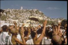 When is the Day of Arafat in 2015?: Pilgrims gather at the Plain of Arafat during the Hajj.