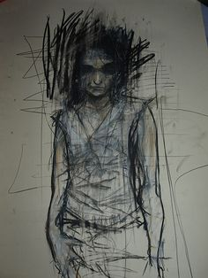 Charcoal Drawing of a Female, Guy Denning. I used this artist in my project, but i focused more on his acrylic studies for progression, but I really enjoy this image.