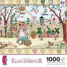Ellen Stouffer My Friends 1000 Piece Jigsaw Puzzle *** Details can be found by clicking on the image.