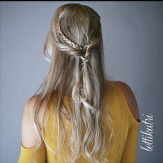 www.lettikutri.com Half Up Half Down, Braids, Long Hair Styles, Tutorials, Beauty, Instagram, Bang Braids, Cornrows, Braid Hairstyles