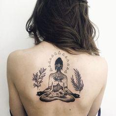 Mystical Buddha Tattoos That Would Bring You Peace Dream Tattoos, Back Tattoos, Cute Tattoos, Beautiful Tattoos, Body Art Tattoos, Girl Tattoos, Sleeve Tattoos, Buddha Tattoo Design, Buddha Tattoos