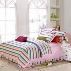 Color Bar College Dorm Room Bedding Sets [100601300002] - $149.99 : Colorful Mart, All for Enjoyment