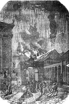 Pompei / Eruption of Mt Vesuvius