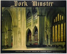 York Minster Railway Poster