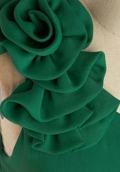 Best 12 Rosette to Go Dress, ModCloth Fashion Sewing, Diy Fashion, Ideias Fashion, Baby Frocks Designs, Kids Frocks Design, Corset Sewing Pattern, Dress Sewing Patterns, Sleeves Designs For Dresses, Blouse Neck Designs