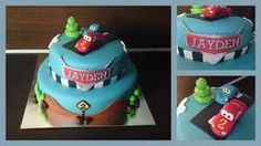 cars taart 3d - Google Search