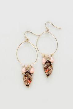 Florenne Earrings in Aspen on Emma Stine Limited