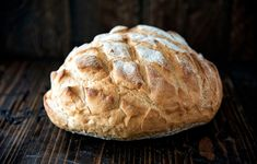 First Bread Recipe, Loaf Bread Recipe, Loaf Recipes, Cob Loaf Spinach Dip, Cobb Loaf, Cob Bread, Beginners Bread Recipe, Best Roast Potatoes, Fairy Bread