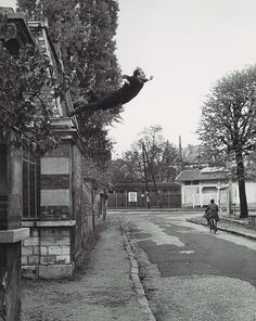 "Photocollage 'Leap into the void"" by Yves Klein, Harry Shunk and Janos Kender. Great collage which brings a mixture of freedom, pain and wonder."