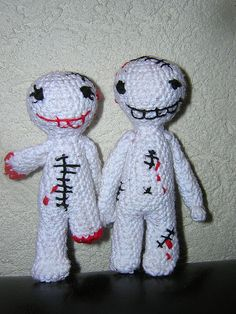 Big Zombie #amigurumi love by * Jenni *, via Flickr