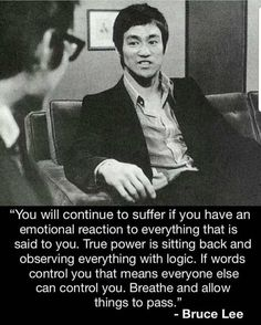 Bruce lee is a Hollywood and martial arts icon. His contribution to the world of fighting is still remembered today. Quotable Quotes, Wisdom Quotes, True Quotes, Great Quotes, Motivational Quotes, Inspirational Quotes, Quotes Quotes, Idiot Quotes, Socrates Quotes