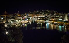 Agios Nicolaos, Crete, Greece Crete Greece, Places To Travel, Dolores Park, Destinations, Holiday Destinations