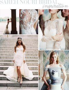 Lovely Inspiration / Sareh Nouri Bridal Couture / Laura Gordon Photography / via StyleUnveiled.com