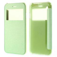 Köp Fodral Apple iPhone 6/6S window view grön online: http://www.phonelife.se/fodral-apple-iphone-6-window-view-gron