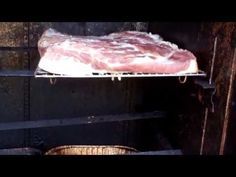 How to Cure and Smoke Your Own Old Fashioned Bacon! Apple and Hickory Wood Smoked! - YouTube