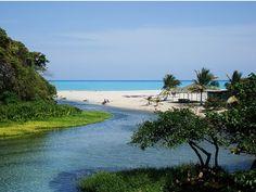 Río y Playa Los Patos, Paraíso, Barahona, R.D.