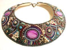 Laly jewels on stylettissimo.it Collare Embroidery ROMANTICA PUBBLICATO su VOGUE Accessory Disponibile su Etsy https://www.etsy.com/listing/217800728/collar-romantic-bead-embroidered?ref=shop_home_active_8