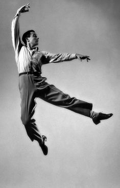 Gene Kelly - love his dancing style