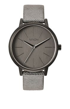 Kensington Leather - gunmetal shimmer | Nixon Neo Preen