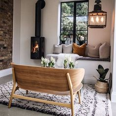 Happy Saturday! It's been pouring with rain all day here ☔️ Perfect weather for a fire and holiday planning ☀️ . We are off to see friends soon, what are you doing today? . #woodburner . . #livingroom #livingroomdecor #livingroomdesign #designspiration #interiordesigned #interiorstyling #interior4inspo #inspire_me_home_decor #interiorforyou #interiorsblogger #mynordicroom #marieclairemaison #boligmagasinetdk #livingroominspo #simpledecor #stylingtheseasons #cosyhome #thehappynow #cerealmag…