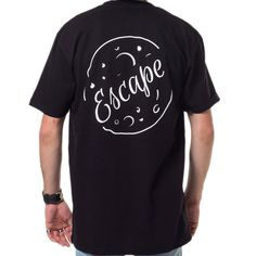 Escape Apparel is the home of minimally designed street wear. Our clothing is made to be worn by men and women around the world. Amazon Stock, Back To Black, Street Wear, Tees, Mens Tops, How To Wear, Clothes, Women, Fashion