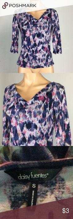 Printed Daisy Fuentes Top Bundle 3 or more items and Save 20% Daisy Fuentes Tops