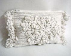 PDF Crochet PATTERN DIY Tutorial Wedding Bridal Clutch Purse Bridal Accessories