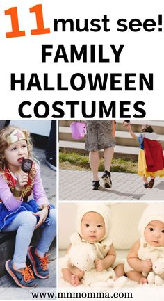 How to have an awesome halloween this year? These Halloween costumes are the perfect family Halloween costumes with a baby. Get inspiring ideas for baby and family Halloween costumes that will be loved by your older kids too! AWESOME Family costume ideas for Halloween - people are so creative! for families for 3 , for 4, for 5, for 6, for big families, with baby, large families, from easy DIY ideas to complex Halloween party winning costumes - these are must sees! #halloween #costumes… Diy Halloween Costumes For 4, Creative Costumes, Halloween Kids, Costume Ideas, Halloween Party, Family Costumes, Boy Costumes, Sibling Costume, Diy For Girls