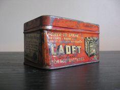 Vintage Pep Boys Cadet De Luxe Metal Tin $18
