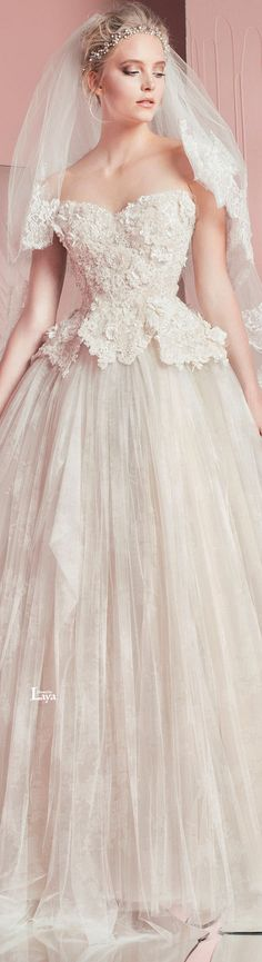 ♔ZUHAIR MURAD S/S 2016 BRIDAL♔ #coupon code nicesup123 gets 25% off at www.Provestra.com www.Skinception.com and www.leadingedgehealth.com