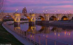 Puente de Toledo, de Madrid... al Cielo