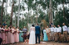 Cerimônia na Floresta e First Look Emocionante – Dani e Well