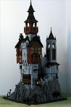 CCCX The Old Monastery   ReBrick   From LEGO Fan To LEGO Fan