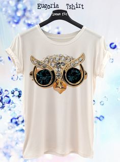 New Collection Fashion Blue Eyes Bird T-shirt   Sexy Woman Eco Print T- 8a1bd7be6