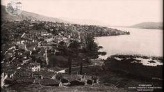 Νοτιοδυτική Πανοραμική Άποψη της Καστοριάς από τη συνοικία Βαρόσι το 191...