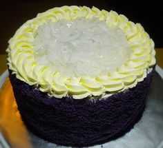UPDATE : Please also read a related post here . Ever since I blogged about my Ube Cake ala Red Ribbon , a number of Filipinas have been em...