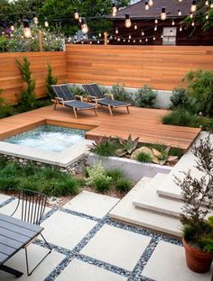 Landscaping Ideas Around Inground Pool