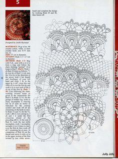 Kira scheme crochet: Scheme crochet no. 1444