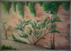 Pastel paintings gallery, landscapes, still life Painting Gallery, Pastel Drawing, Brick Wall, Still Life, Artworks, Pastel Paintings, Landscape, Drawings, Scenery