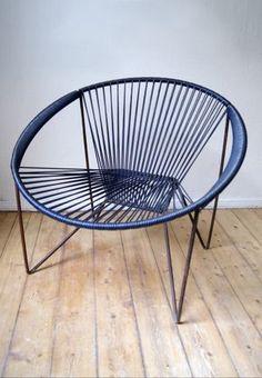 vintage 60ties acapulco spaghetti arm chair