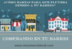 Comprar en el barrio es el mejor modo de apoyar a los vecinos. ;) http://blog.micomerciolocal.com