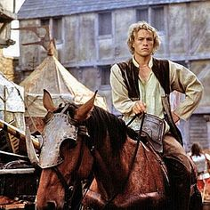 """""""It's called a lance. Hello?"""" ~ 'A Knight's Tale'"""
