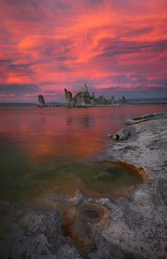 Mono Lake Tufas, Mono County, California