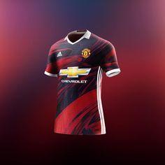 Soccer Kits, Football Kits, Football Jerseys, Manchester United Away Kit, Manchester United Wallpaper, Adidas Kit, Soccer Poster, Soccer Uniforms, Football Design