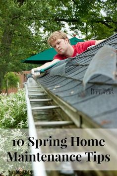 Maintaining your home in between each season is a sure way to keep it running smoothly and efficiently. Here are 10 Spring Home Maintenance Tips.