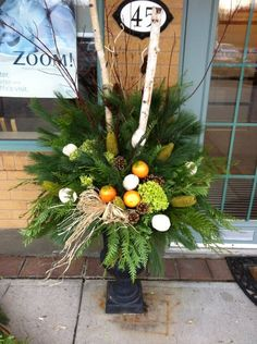 12 Best Christmas Urns Images In 2012 Christmas Urns