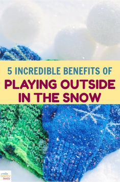 Once you read these surprising benefits of playing outside in the snow with your family, you'll be wishing every day was a snow day! Check them out! Natural Parenting, Gentle Parenting, Parenting Advice, Attachment Parenting, Nutrition Information, Wonderful Things, How To Relieve Stress, Kids Meals, Natural Remedies