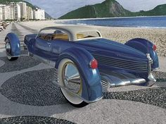 Just a car guy : Tucker's 2nd try (The Carioca) was from a De Sakhnoffsky design, and potentially would have been made in Brazil